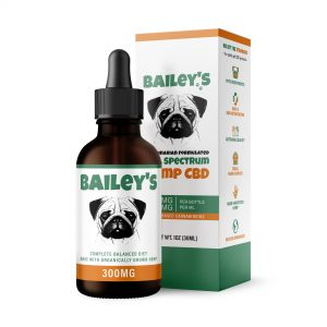 Bailey's 300MG Full Spectrum CBD Oil For Dogs
